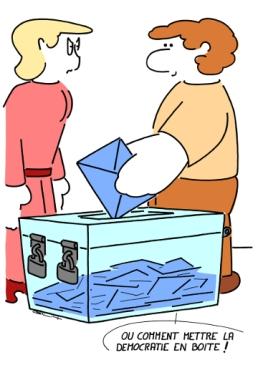 – How to put democracy in a box ! https://gilscow.wordpress.com/2014/05/29/democratie-democracy/