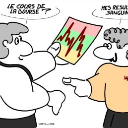 - Stock Market Price ? - My blood take !
