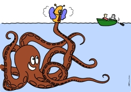 poulpe sur https://gilscow.wordpress.com/2014/08/20/poulpe-octopus/
