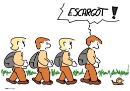escargot sur https://gilscow.wordpress.com/2014/09/19/escargot-snail-2/
