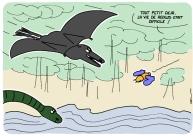 dinosaures sur https://gilscow.wordpress.com/2014/12/22/prehistoire-prehistory/