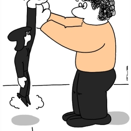 - Je vais pousser doucement sur vos mains ... euh, si vous me poser sur le sol ! - Enseigner le qiqong en Hollande !