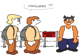 PRIVATE PROPERTY - of intelligence ? https://gilscow.wordpress.com/2015/06/26/prive-private-2/