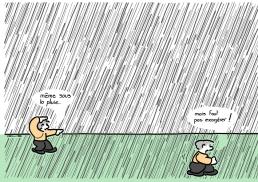 - Even under the rain. - But I must not over-do it ! https://gilscow.wordpress.com/2015/07/25/qigong/