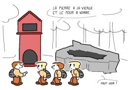 autrement dit : four à verre, en vieux français.