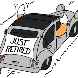 - Juste retraités !