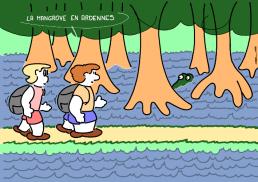 – The mangrove in Ardennes https://gilscow.wordpress.com/2016/06/26/mangrove/