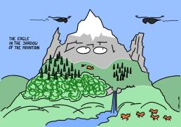 https://gilscow.wordpress.com/2016/07/11/the-eagle-in-the-shadow-of-the-mountain-laigle-dans-lombre-de-la-montagne/