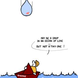 – Peut-être une goutte dans un océan d'amour … mais pas une petite ! https://gilscow.wordpress.com/2016/07/21/ocean-of-love-ocean-damour/