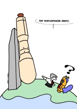 – Pour les orbites souterraines. https://gilscow.wordpress.com/2016/10/23/orbite-souterraine-subterranean-orbit/