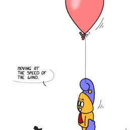 – Bougeant à la vitesse du vent. https://gilscow.wordpress.com/2017/02/11/ballon-balloon/