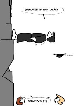 – Suspendu à votre énergie – FRANCISCO !!?! https://gilscow.wordpress.com/2017/06/03/energie-de-levitation-levitation-enegy/