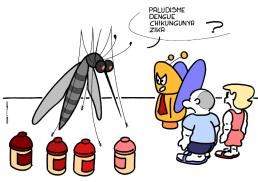 – Malaria, dengue, chikungunya, zika ? https://gilscow.wordpress.com/2018/04/04/moustique-ami-friendly-mosquito/
