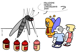 – Malaria, dengue, chikungunya, zika ? https://gilscow.wordpress.com/2018/04/04/moustique-ami-friendly-mosquito/