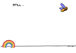 TRANQUILLE ou QUAND MÊME, c'est selon l'humeur du jour ! https://gilscow.wordpress.com/2018/04/23/arc-en-ciel-du-lundi-monday-rainbow/