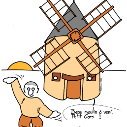 – Beautiful windmill, Guy ! – Wuji qigong ! https://gilscow.wordpress.com/2019/04/25/qigong-du-moulin-a-vent-windmill-qigong/