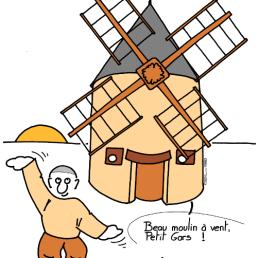 – Beautiful windmill, Guy ! – Wuji qigong ! https://gilscow.wordpress.com/2019/04/25/qigong-du-moulin-a-vent-windmill-qigong/